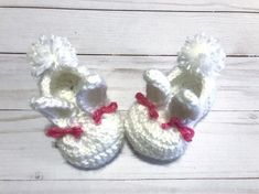 Pink and white crochet Easter bunny slippers for baby's first Easter, Easter basket stuffer for baby girls and new moms Gifts For Girls, Girl Gifts, Baby Boy Baptism, Baby Girls, Bunny Slippers, Easter Gift Baskets, Easter Crochet, Crochet For Boys, Baby Art