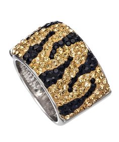 Chelsea Taylor Tiger Cigar Band Ring