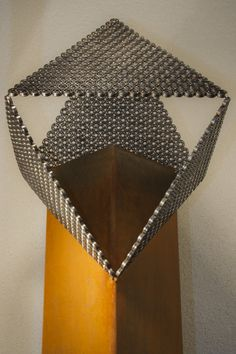 PM1 is made of used material out of industrial machines   Lebesque Design