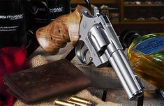 A luxury revolver, the stunning Korth Mongoose Silver has the look and performance to match its price tag.