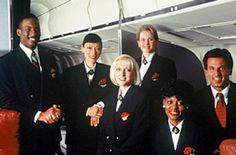 Summer 1966 68 Flight Attendant Uniform Dc 8 Interior