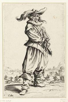 La Noblesse de Lorraine (The Nobility of Lorraine), Jacques Callot, 1620 - 1623