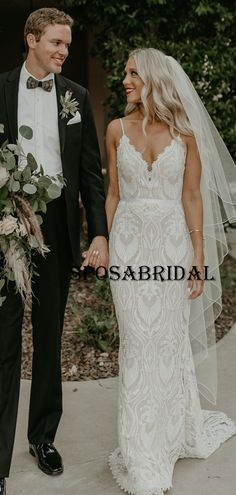 Elegant Rustic Full Lace Garden Fashion Long Wedding Dresses WD0574 #weddingdresses #weddingdress #bridalgown #weding #bridaldress #laceweddingdress #fashion #Ballgown #Country #boho #Princess #modest    Popular Wedding Dresses, Country Wedding Dresses, Long Wedding Dresses, Bridal Dresses, Wedding Gowns, Wedding Dressses, Lace Dress, Ball Gowns, Tulle