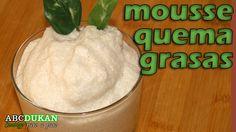 Mousse quema grasas de te verde y piña - Receta fase Ataque