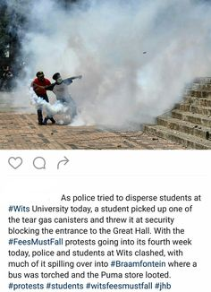 #Wits #FeesMustFall #FeesMustFall #FreeQualityDecolonizedEducation#SouthAfrica#BlackLivesMatter#Johannesburg#CapeTown#Durban#Access#Affordable#Available