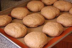 Whole Wheat Hamburger Buns | my kitchen addiction