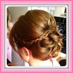 Low bun & braids