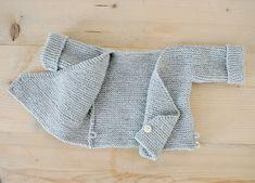 Knitting Baby Kimono Jacket