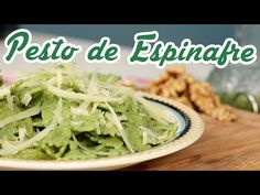 Macarrão com Pesto de Espinafre - Cozinha pra 1 - YouTube