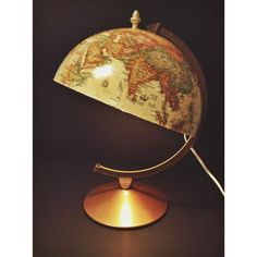 globe lamp!