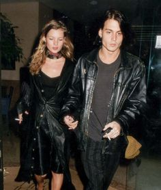 Kate Moss & Johnny Depp. One of our all-time favourite pairs. :(