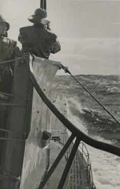 U boat on patrol German Submarines, Armada, Navy Ships, World War Ii, Ww2, Statue Of Liberty, Military, Tanks, Travel