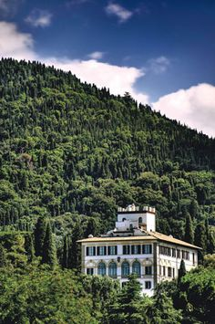 Take a trip to the lush hills of Fiesole (outside of Florence) and sojourn at Il Salviatino, a renovated 15th century palace turned hotel.