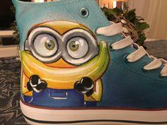 Shoe Art  Custom  Minions