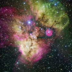 Talk Like a Pirate (Nebula) Day Shiver me timbers, behold the Skull and Crossbones Nebula! Also know as NGC Skull and Crossbones is an emission nebula located some – light-years away from Earth in the southern constellation of. Cosmos, Space Photos, Space Images, Wow Photo, Star Formation, Space Pirate, Star Cluster, Space Telescope, Space And Astronomy