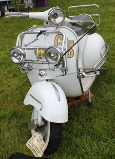 Vespa - quirky little scooter ....
