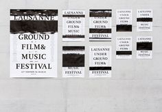 Demian Conrad builds festival identity by interfering with printing process