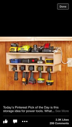power tool tidy/ladderer