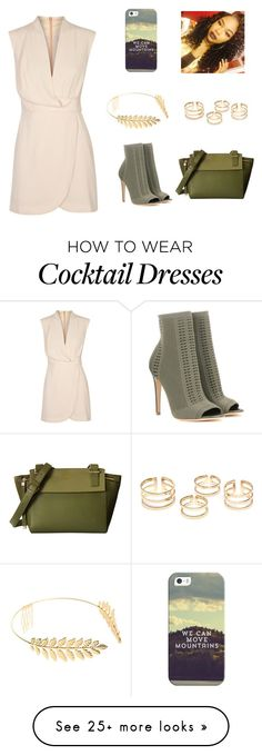 """""""Untitled #92"""" by nia-robertson on Polyvore featuring Finders Keepers, Gianvito Rossi, Cara and Casetify"""
