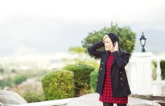Beret is the perfect winter accessory-Kacee from Life with Lipstick On