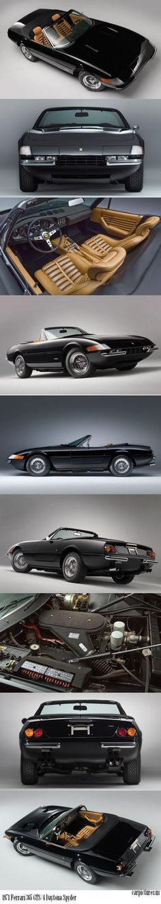 1971 #Ferrari 365 GTS/4 Daytona Spyder