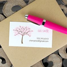 Calling Cards / Custom Calling Cards / by SweetBellaStationery, $15.00
