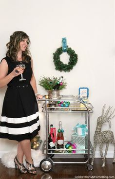 Ideas, tips, and recipes for hosting a girls-night-in Holiday Party — Celebrations at Home