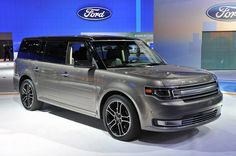 if i ever had to get a mini van, i would get this, 2013 ford flex