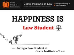 #Happiness #BeALawyer #GeetaInstituteofLaw #AdmissionsOpen  #BALLB #BBALLB #LLB #LLM
