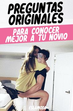 ¡Test de preguntas originales para conocer mejor a tu novio! - Zinc Tutorial and Ideas Funny Questions, Tumblr Love, Girl Tips, Love Tips, Boyfriend Goals, Love Messages, Romantic Messages, Cute Love, Couple Goals