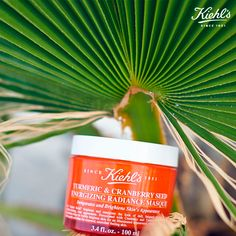 Turmeric & Cranberry Seed Energizing Radiance Masque #masque #kiehls