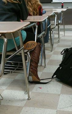 I kinda want to do this to all of my boots now.