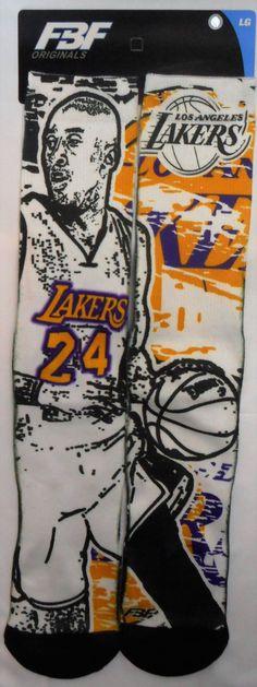 Kobe Bryant Los Angeles Lakers Stamp POP SocksFor Bare Feet Licensed -  allaccesssports365.com 631ef92cb93c