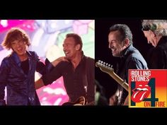 A very happy birthday to our friend Bruce Springsteen!  The Rolling Stones & Bruce Springsteen - Rock In Rio Lisboa - YouTube