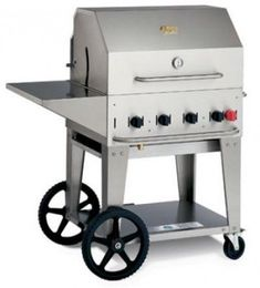 Crown Verity Stainless Steel Mobile Outdoor Charbroiler Grill 30 inch  1 each -- Check this out by going to the link at the image.