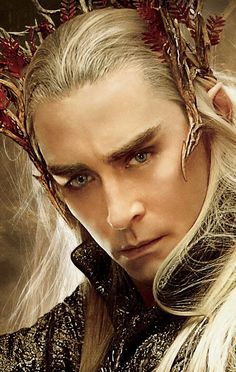 Lee Pace as Thranduil.