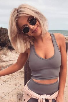 "Are you ready for sexy short blonde hair? We've all heard the saying ""Blondes have more fun!"" But is this really true? Do you feel brave enough to find out?"