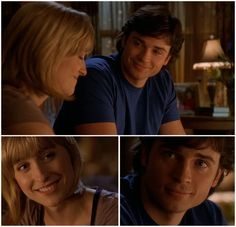 I'm so glad her character stayed until the very end :). Smallville's Chloe Sullivan and Clark Kent