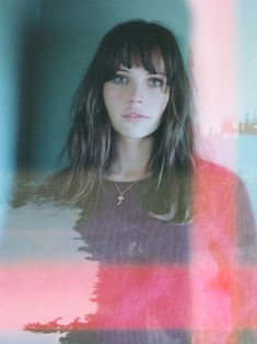 British Actress Felicity Jones Poses for Debut Issue of So It Goes