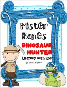 The following is included in this unit for Mister Bones Dinosaur HUnter:*2 anchor charts: Important Ideas & Facts & Details These can be printed poster sized or sent to Staples to be printed.*Pictures of anchor charts I created with students for word work area*High Frequency Words Matching Game*Splish Splash the Words Were Taking a Bath Word Sort game. *Row Row Row the Boat Game for oa and ow words.*Adjective task cardscan be used at a center or can be used to play Scoot*5 Amazing Wor...