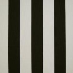 Palais Liquorice 100% cotton 140cm  Vertical Stripe Dual Purpose