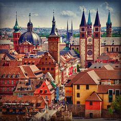 Würzburg, Germany. where my partner spent his youth. also the starting point of Romantische Straße. want to go.