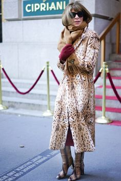 Pin for Later: Catch Up on All of NYFW's Best Street Style Day 4 Anna Wintour