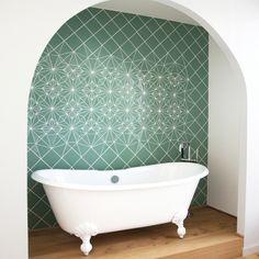 Handmade mosaic by artist Anne Dérian for a loft in Berlin-Prenzlauerberg. Made…
