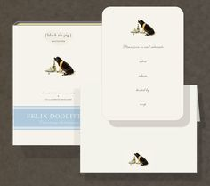 Party Invitations by Felix Doolittle #Stationery