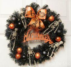 Get Inspired: 15 Spooktacular Halloween Wreaths