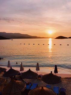 Ksamil, Albania. Albania, Instagram Accounts, Celestial, Photo And Video, Sunset, Amazing, Outdoor, Europe, Fresh