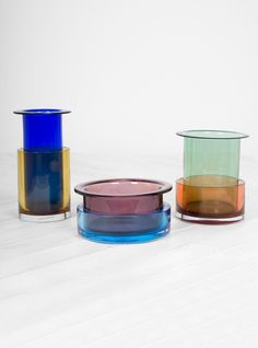 Discover the latest collection from &Tradition at Couverture & the Garbstore. Shop the Tricolore Vase by Sebastian Herkner online now. Christmas Gift Guide, Christmas Gifts, Colored Glass Vases, Sebastian Herkner, Shapes, Ceramics, Traditional, Birthday, Italy
