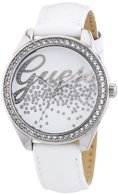 Guess W60006L1 Ladies LITTLE PARTY GIRL White Watch -- More info could be found at the image url.