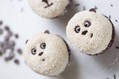 Baby Motiv, Panda Love, Weird Food, Healthy Muffins, Vegan Snacks, Sweet And Salty, Cupcake Recipes, Food Inspiration, Pandas